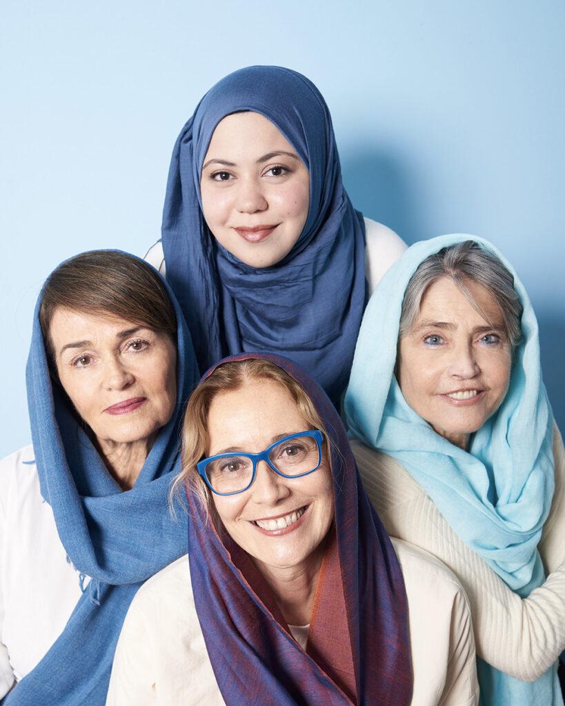 Sara, la ragazza con lo hijab